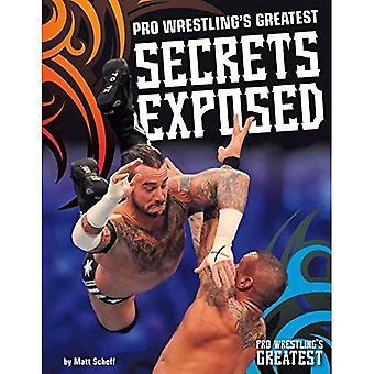 Les plus grands Secrets de Pro Wrestling exposés (Pro Wrestling plus grand)