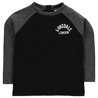 Lonsdale Kids Boys Bby84 sur le CrstLS Tee Shirt manches longues