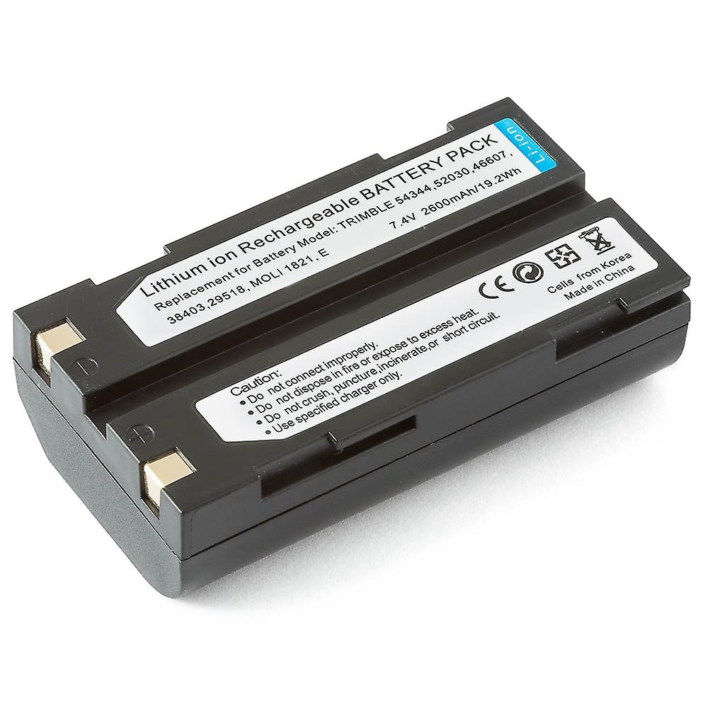 5-pack - batterier för Pentax Ei-D-Li1 Trimble 5700 5800 38403 52030 54344 MT1000 R7 GPS R8 GPS batteri