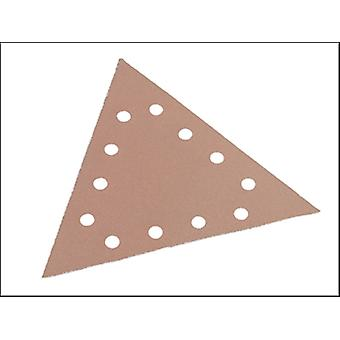 SANDING PAPER VELCRO TRI ANGLE TO SUIT WST-700VP 180 GRIT PACK 25