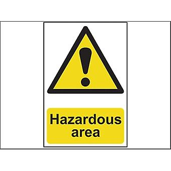 HAZARDOUS AREA - PVC 400 X 600MM