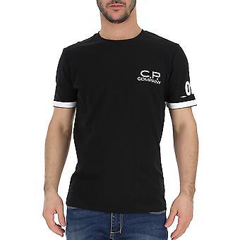 C.p. Company Black Cotton T-shirt