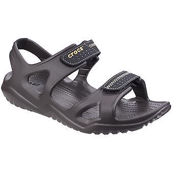 ddea3a7a7cf0 Crocs Mens Swiftwater River Lightweight Ankle Strap Summer Sandals