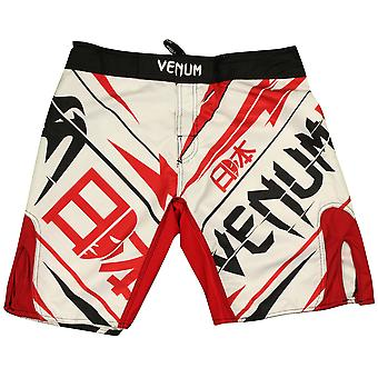 Venum Mens Wanderlei Silva Wand returnerar Japan kamp Shorts - vit/röd