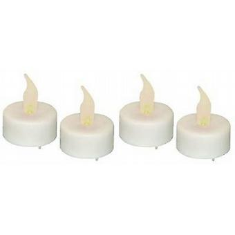 Battery Operated Tea Light Candles 12 Per Pack