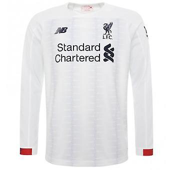 2019-2020 Liverpool Away Long Sleeve Shirt (Kids)