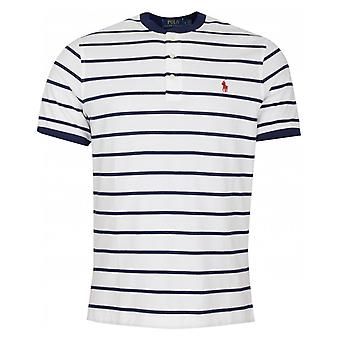Polo Ralph Lauren Custom Slim Fit Striped Henley T-shirt