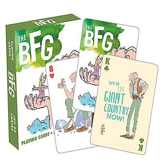 Roald Dahl die BFG Playing Cards