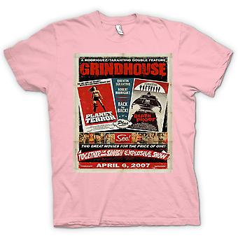Womens T-shirt - Grindhouse Planet Terror / Death Proof