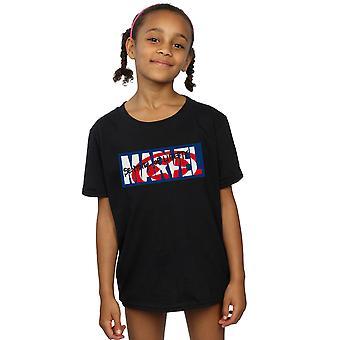 Marvel Comics Girls Sentinel Of Liberty Logo T-Shirt