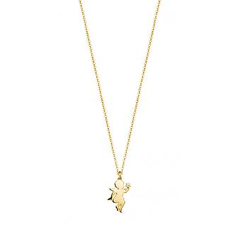 ESPRIT women's chain necklace Silver Gold Angel star ESNL93170B420