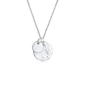 Elli 103952719 Necklace with Women's Pendant - Silver
