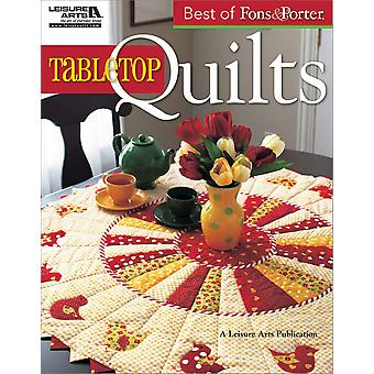 Leisure Arts Best Of Fons & Porter Tabletop Quilts La 5296