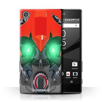 STUFF4 Tilfelle/Cover for Sony Xperia Z5/5.2/Bumble-Bot rød/roboter
