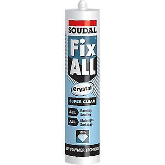 Soudal Fix All Crystal Clear Sealant Glue