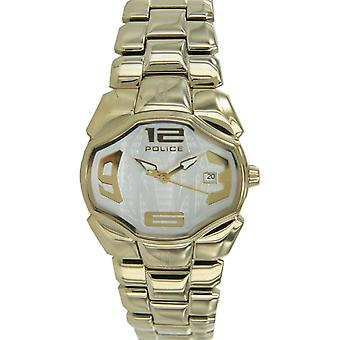 Police ladies watch wristwatch stainless steel gold Angel PL12896BSG / 04 M