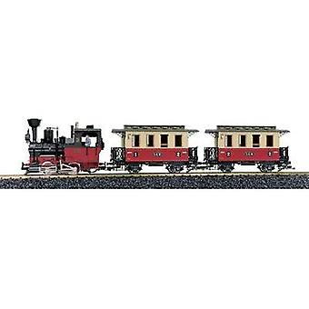 LGB L 70302 G Passenger train start-set with sound For indoor and outdoor Diameter of oval track 1290 mm