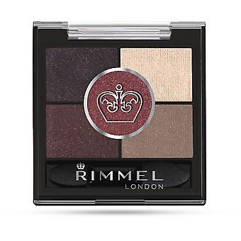 Rimmel London Glam Eyes HD 5 Colour Eye Shadow 022 Brixton Brown