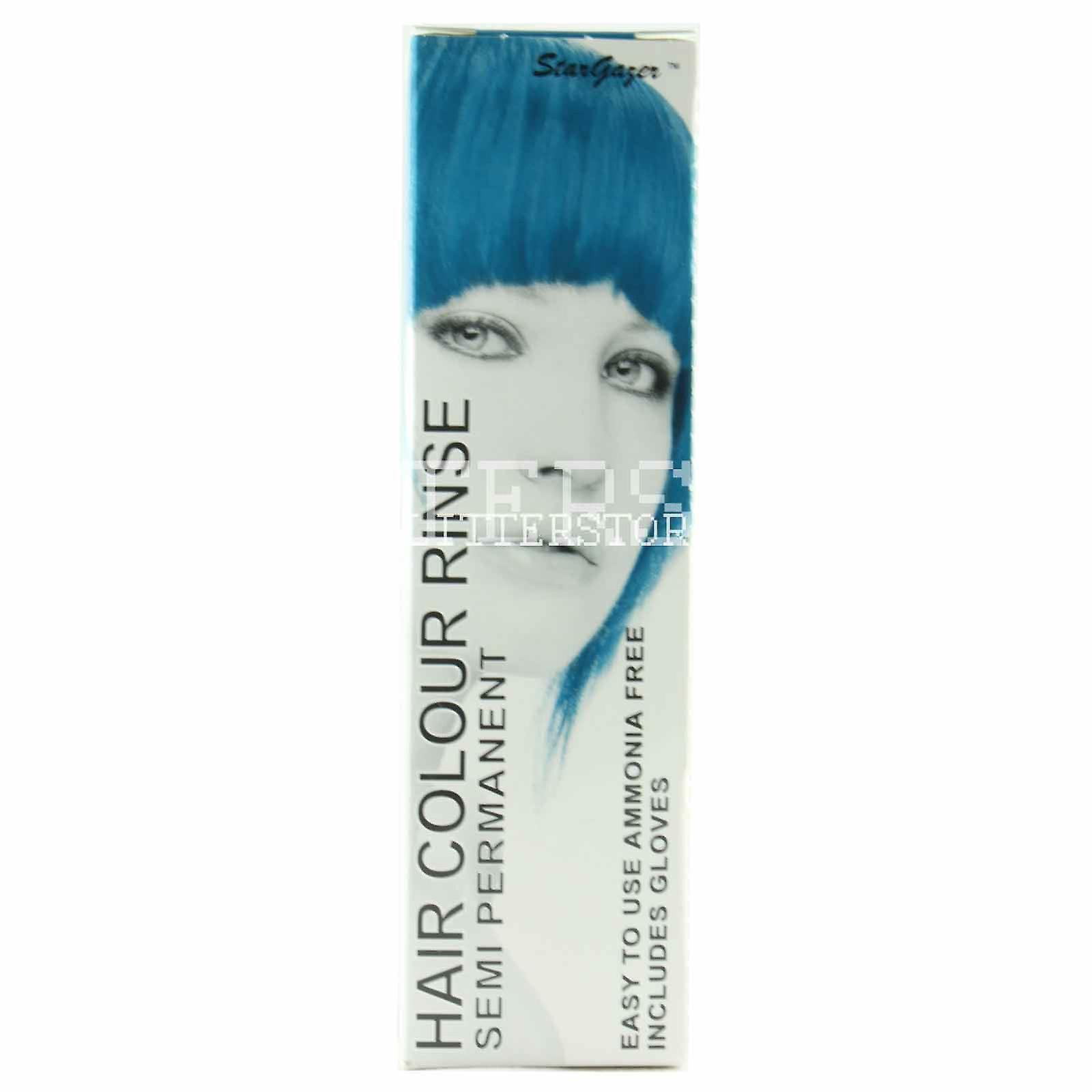 Stargazer Hair Dye - Soft Blue With Tint Brush