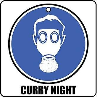 Curry Night Car Air Freshener