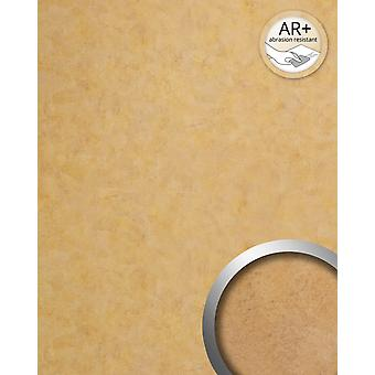 Wall covering vintage look WallFace 19208 SILENT GOLD decorative Panel in metal look shiny smooth adhesive abrasion resistant gold bronze 2.6 m2