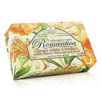 Nesti Dante Romantica Sensuous Natural Soap - Noble Cherry Blossom & Basil - 250g/8.8oz