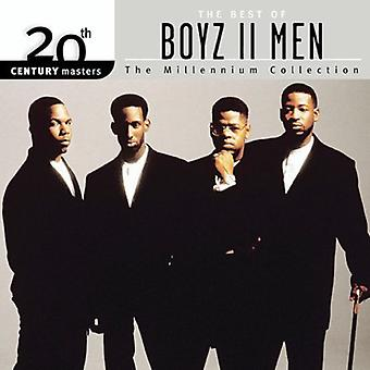Boyz II Men - Millennium Collection-20th Century Masters [CD] USA import