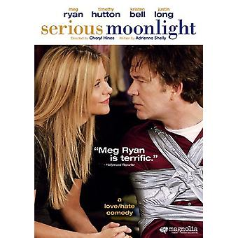 Serious Moonlight [DVD] USA import