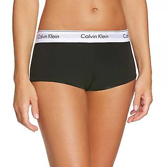 Calvin Klein Women Modern Cotton Short, Black, L