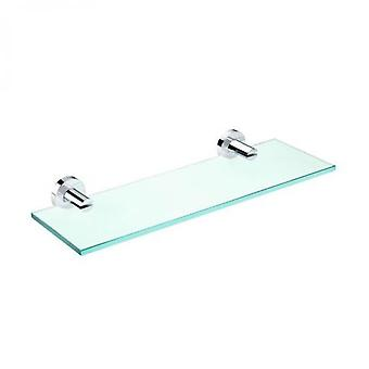Pomd'or Chrome Glass Shelf Cm 40X15X5