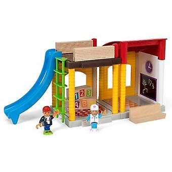 BRIO Village School Playset 33943