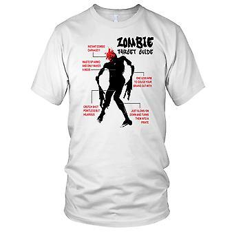 Zombie mål Guide Kids T skjorte