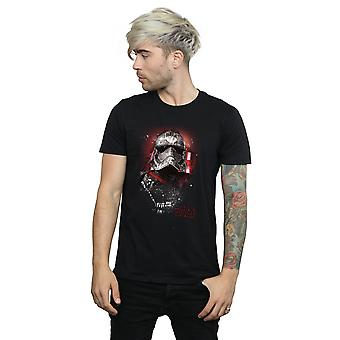 Star Wars Men's The Last Jedi Captain Phasma Brushed T-Shirt