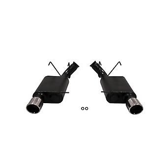 Flowmaster 817588 American Thunder 409S Stainless Steel Aggressive Sound Rear Dual Exit Axle-back Exhaust Kit