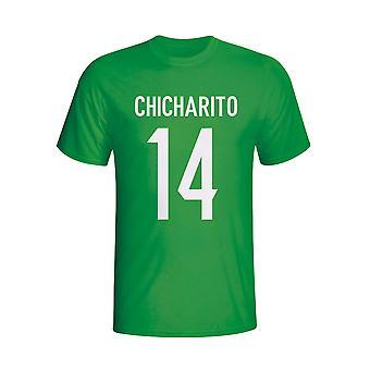 Chicharito Мексики герой футболку (зеленый) - дети