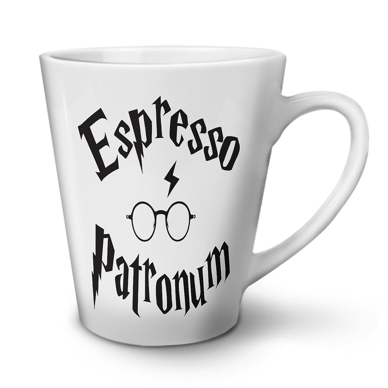 OzWellcoda Blanc Latte Espresso Mug 12 En Céramique Nouveau Patronum Thé Café 1cJlTFK