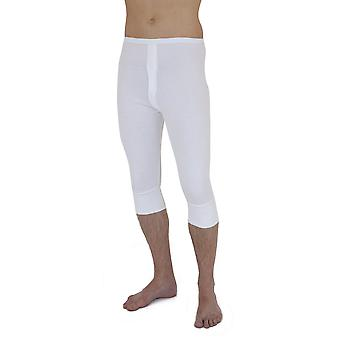 Mens Thermal Underwear 3/4 Length Long Johns Polyviscose Range (British Made)