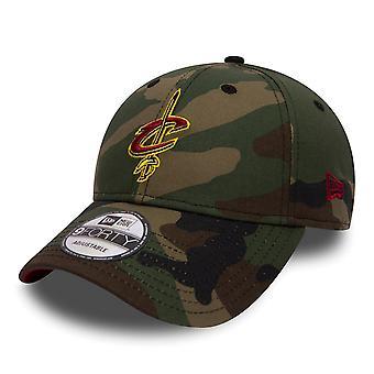 Nieuw tijdperk NBA-Cleveland Cavaliers 9Forty Cap - Team Camo