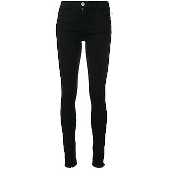 Alyx ladies AAWDN0011001 black cotton of jeans