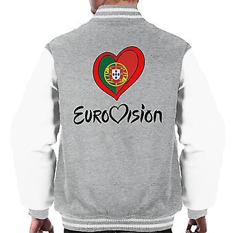Jaqueta Eurovision Portugal coração masculino