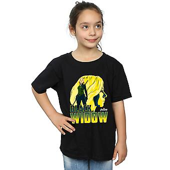 Avengers Girls Infinity War Black Widow Character T-Shirt