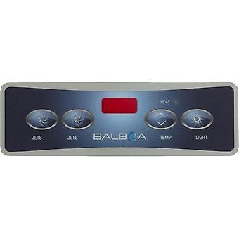 Balboa 10752 Lite Duplex Digital 2 Jet/Light Spa Control Overlay