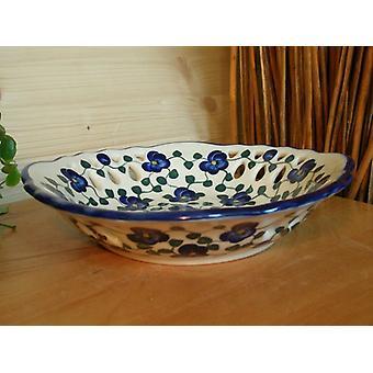 Bowl with gebrochem edge, unique 42 - BSN 0148 Ø 23 cm, 5 cm high,