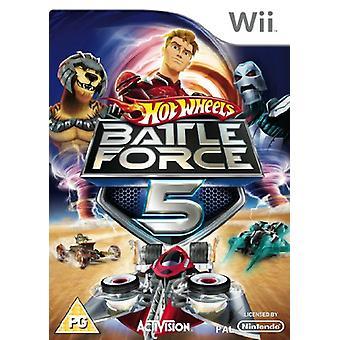 Hot Wheels Battle Force 5 (Wii)