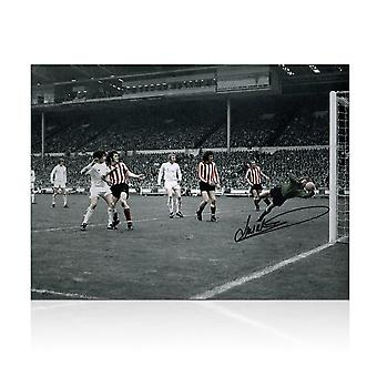 Jim Montgomery Signed Photo: FA Cup Final Wonder Save
