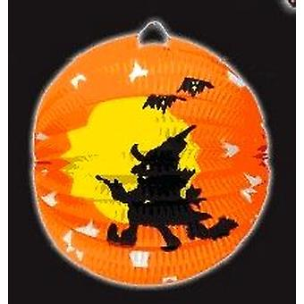 Lampion papierowy Witch Halloween