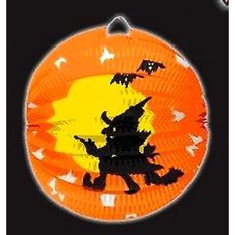 Halloween Hexe Papierlaterne
