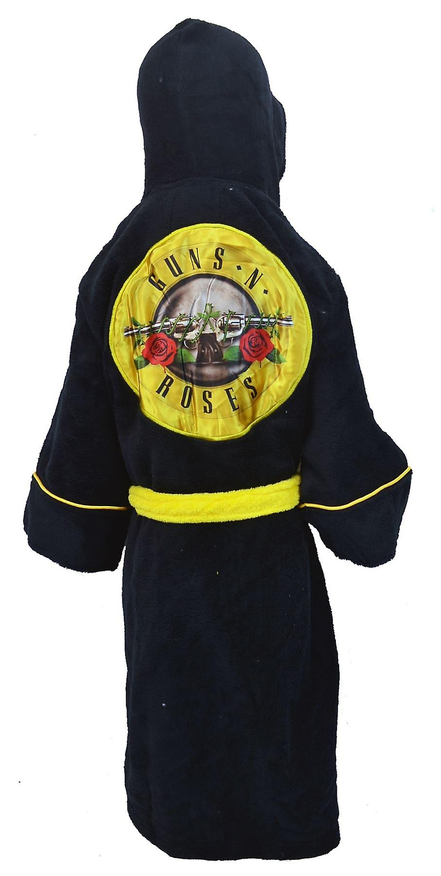 Guns and Roses Kids Dressing Gown / Bathrobe (boys girls children's child' robe) - Small