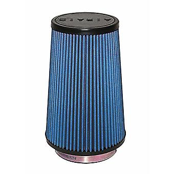 Airaid 703-471 Universal Clamp-On Air Filter: Round Tapered; 4 in (102 mm) Flange ID; 9 in (229 mm) Height; 6 in (152 mm