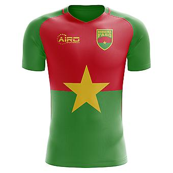 2018-2019 Burkina Faso Home Concept Football Shirt (Kids)
